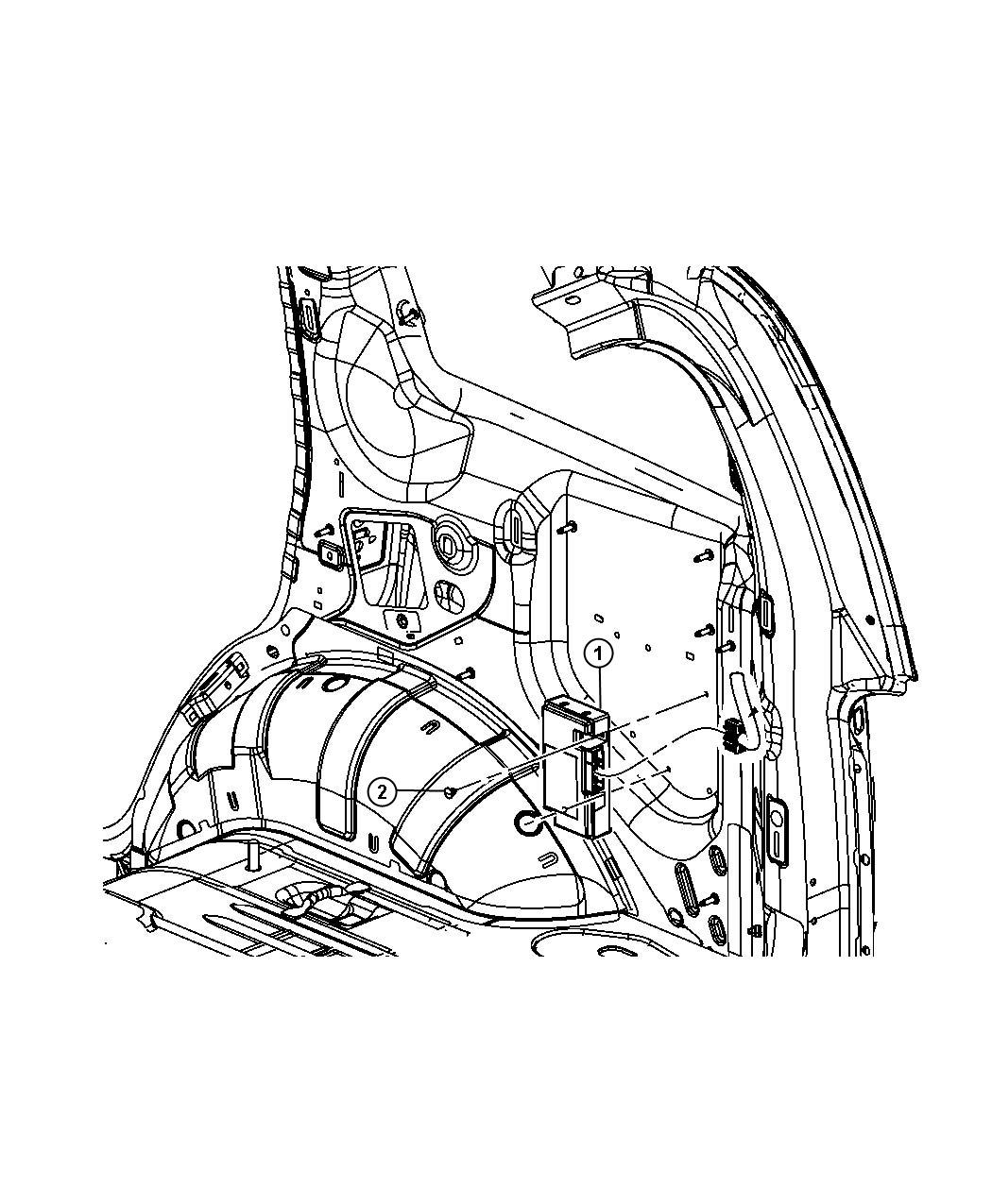 2012 Jeep Liberty Module. Telematics. [uconnect voice