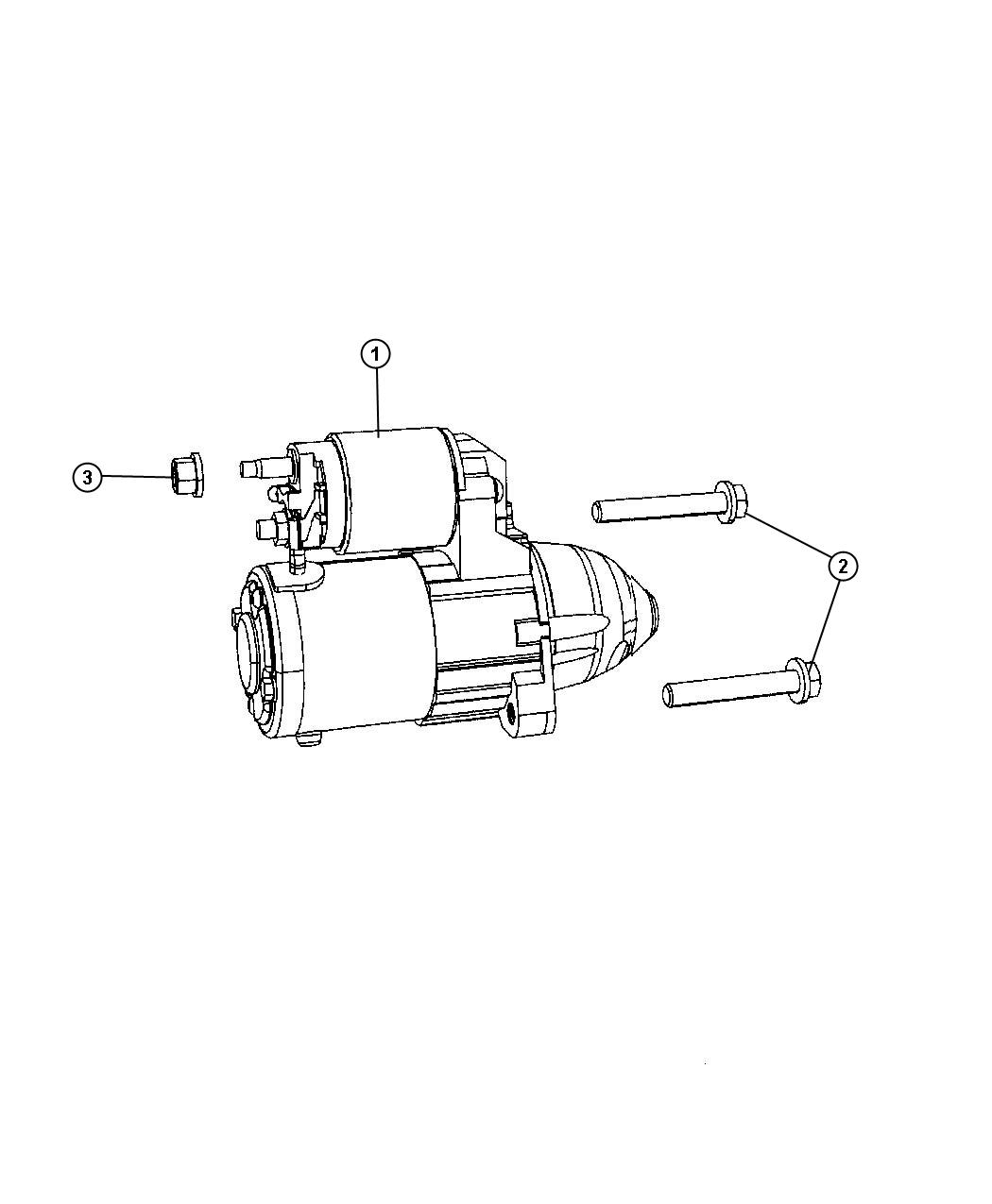 Jeep Patriot Starter Engine Remanufactured Power
