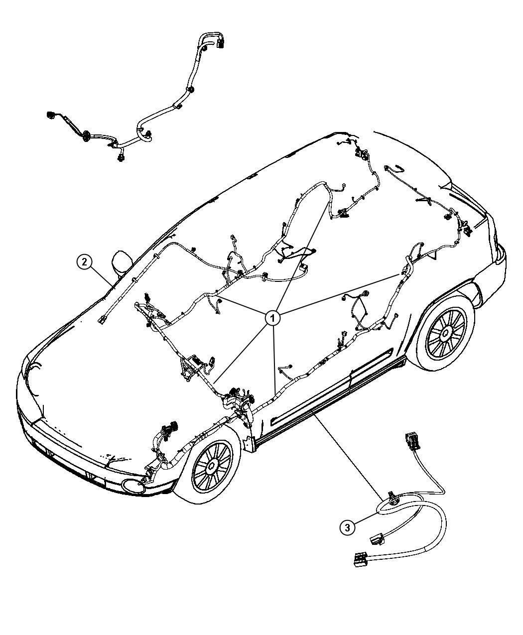 Dodge Caliber Wiring Unified Body Export European