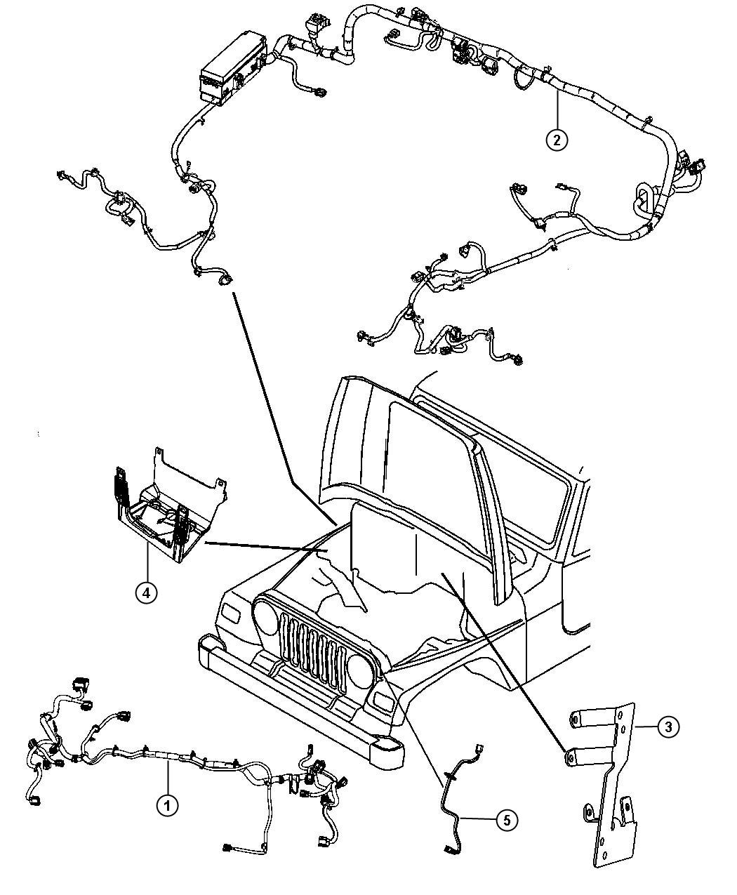 jk headlamp wiring diagram