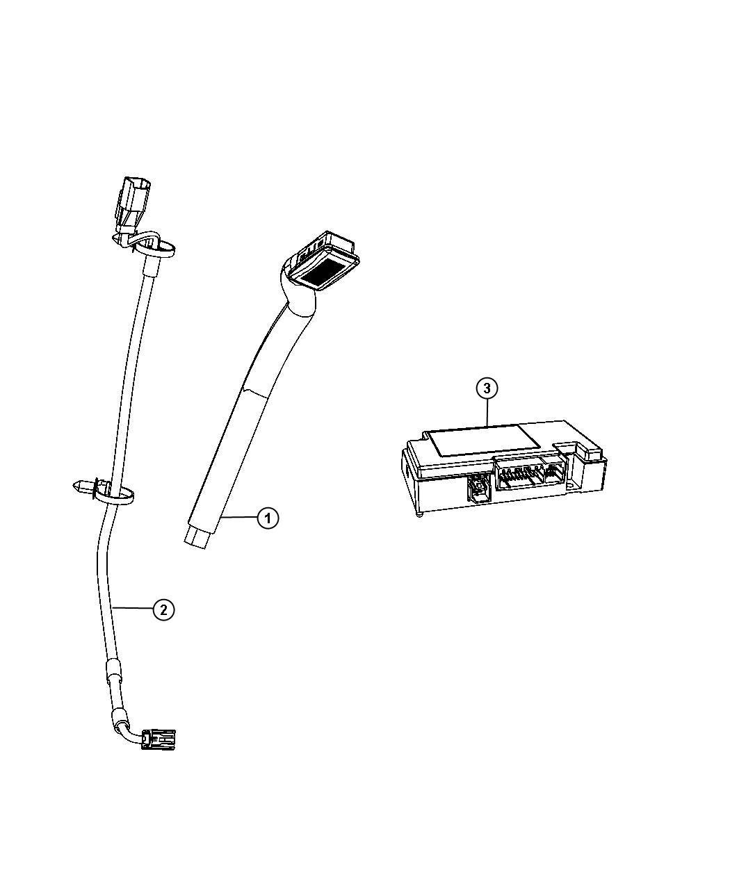 Jeep Wrangler Wiring. Jumper. Instrument panel