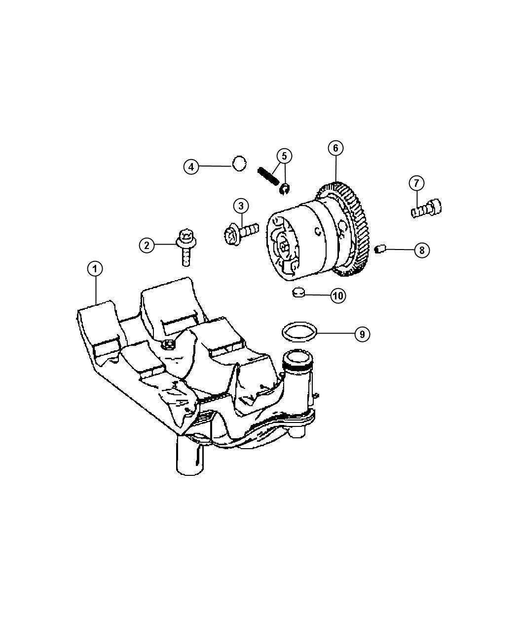 Dodge Journey Plug Expansion Valves Camshaft