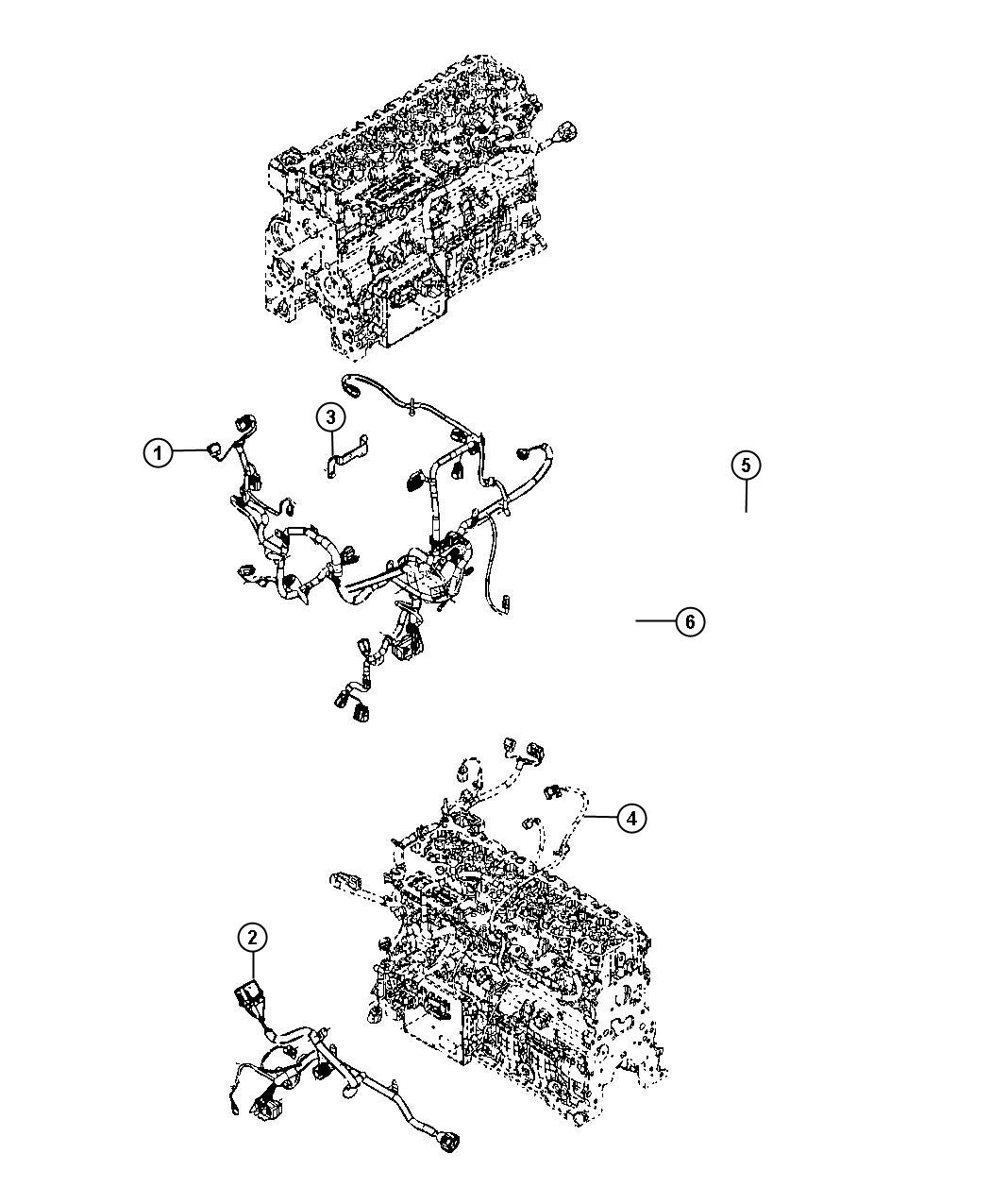 Dodge Ram 2500 Wiring. Engine. Emissions, state