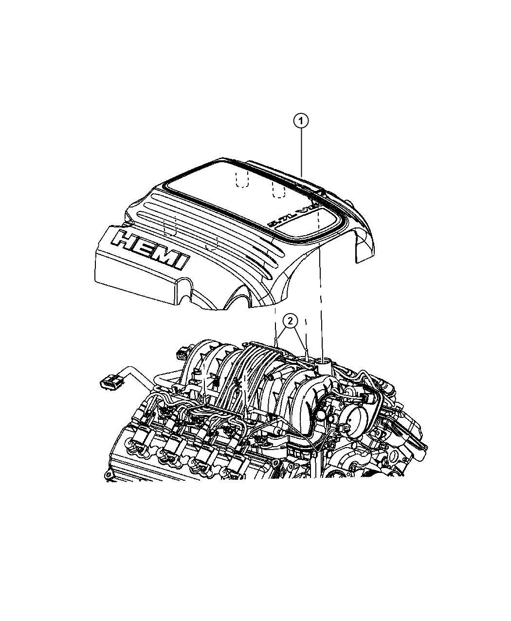 Dodge Charger Cover Engine Related Mds Cxf