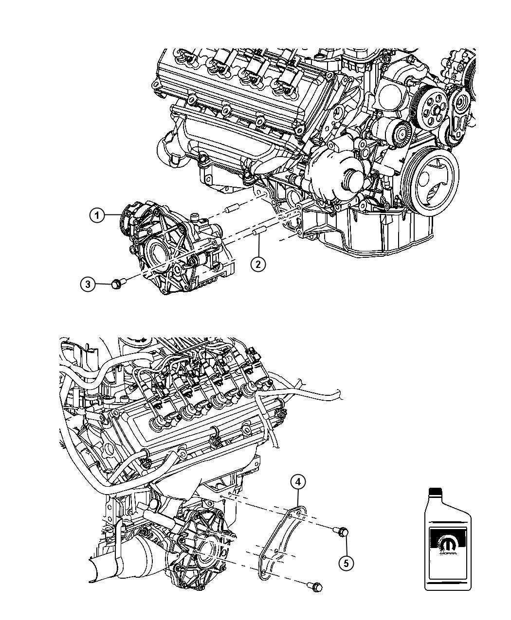 Chrysler 300 Bracket Differential Right Right Side