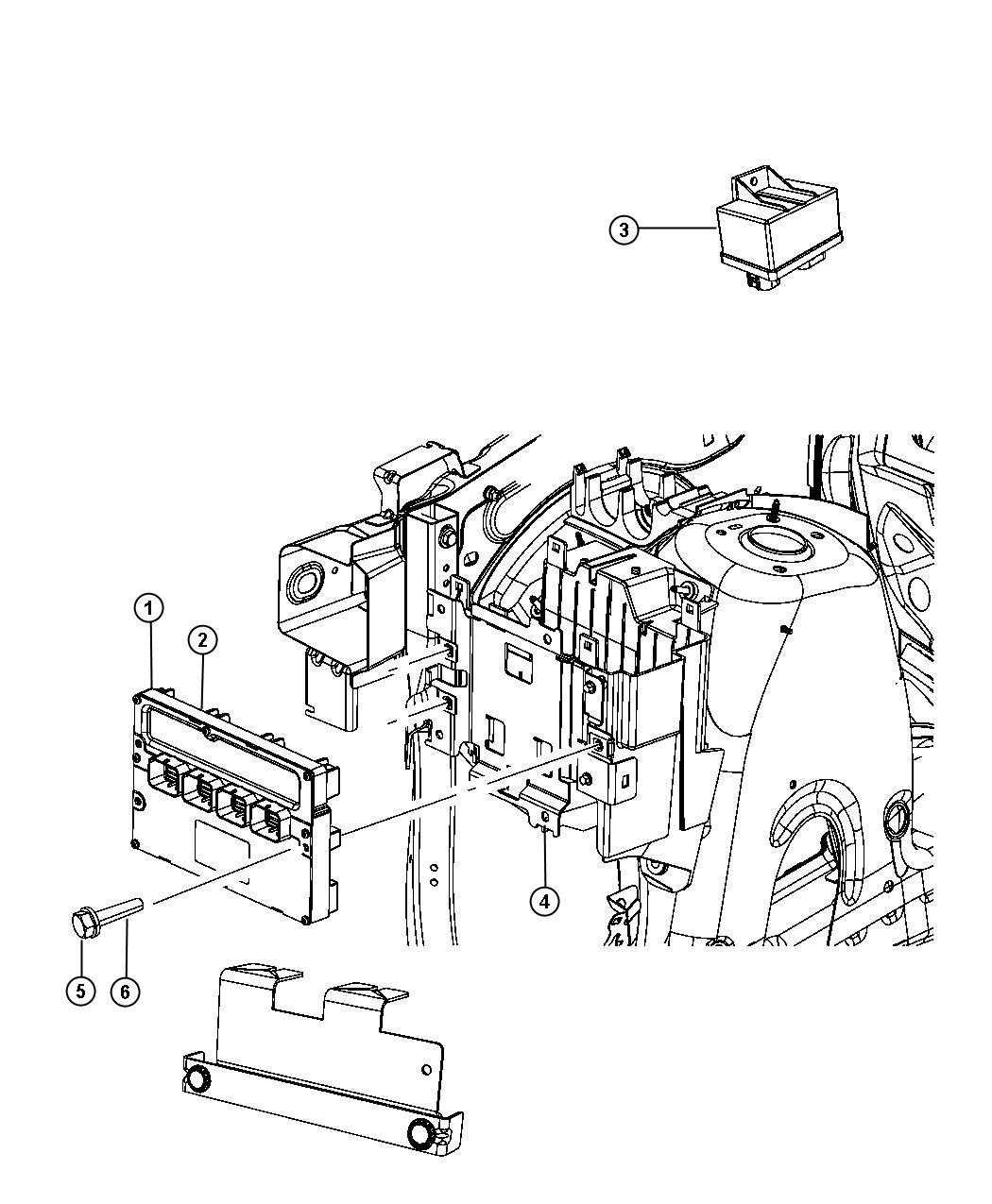 Jeep Grand Cherokee Module Engine Controller