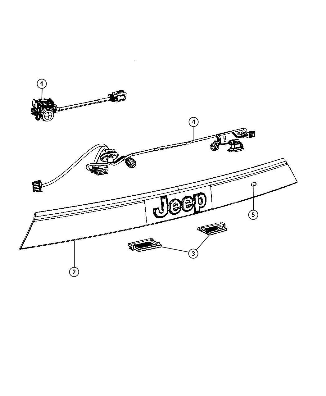Jeep Grand Cherokee Camera Xac Rear Back