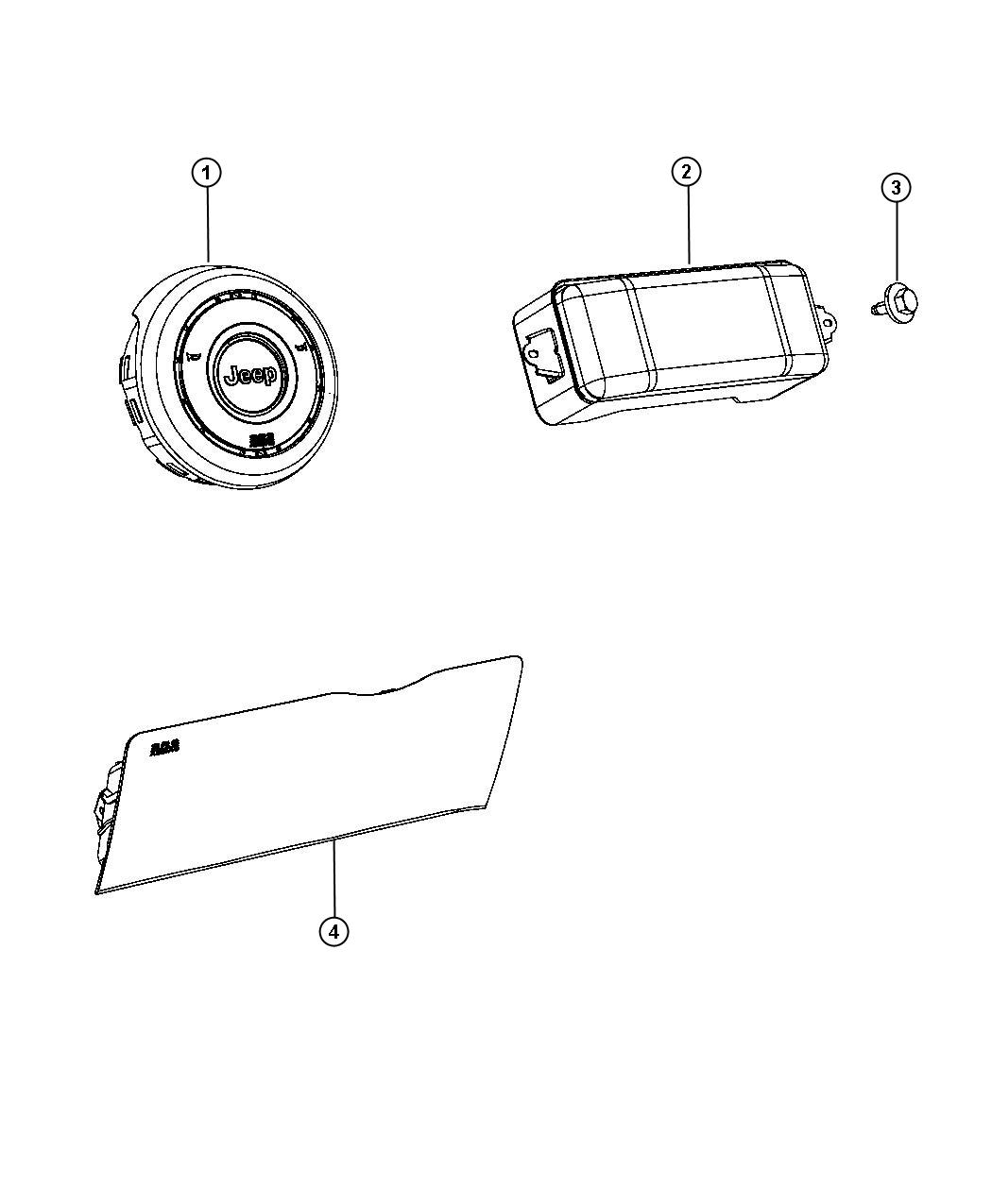 Jeep Grand Cherokee Kneeblocker Steering Column