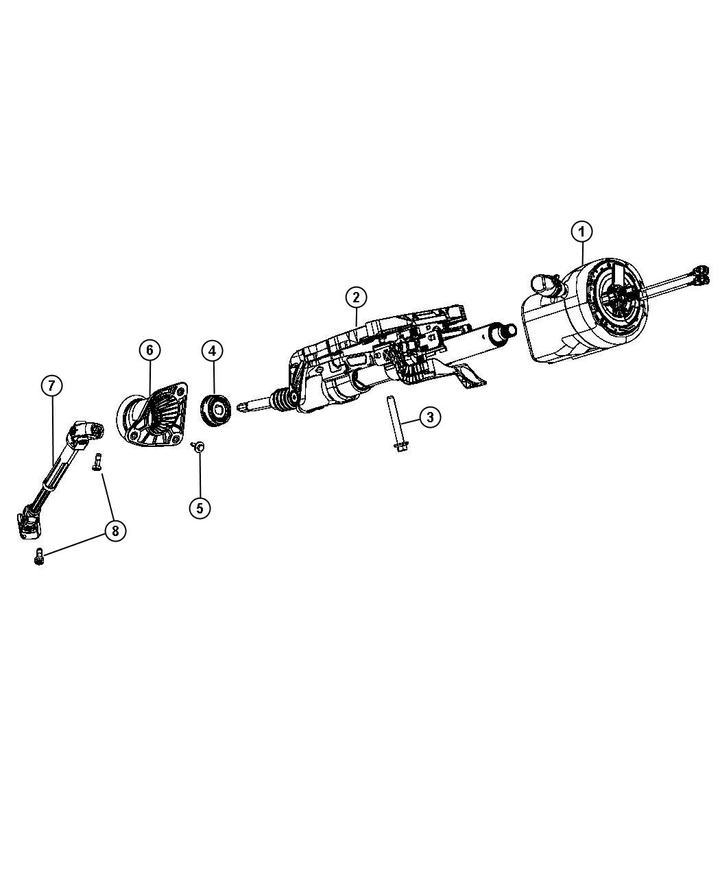Jeep Grand Cherokee Cover Steering Column Opening