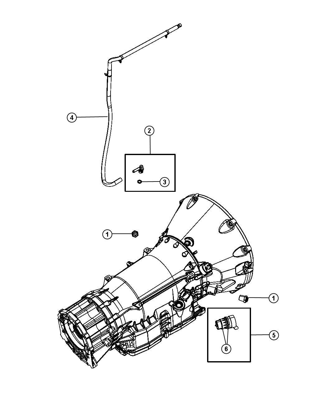 Jeep Grand Cherokee Vent Transmission