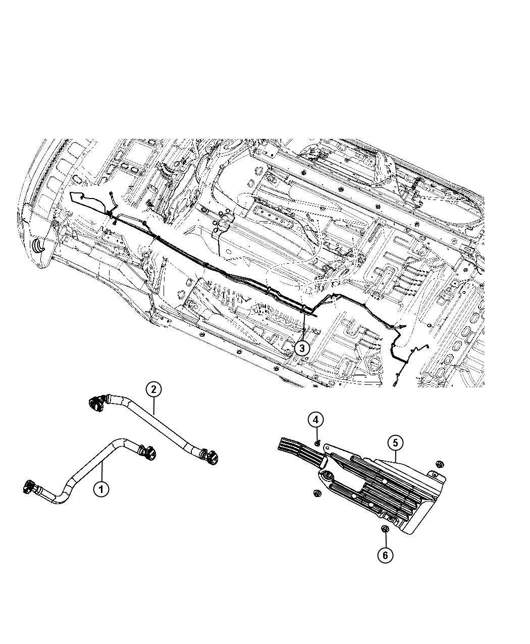 Dodge Magnum Jumper. Fuel supply. [5.7l v8 hemi mds vct