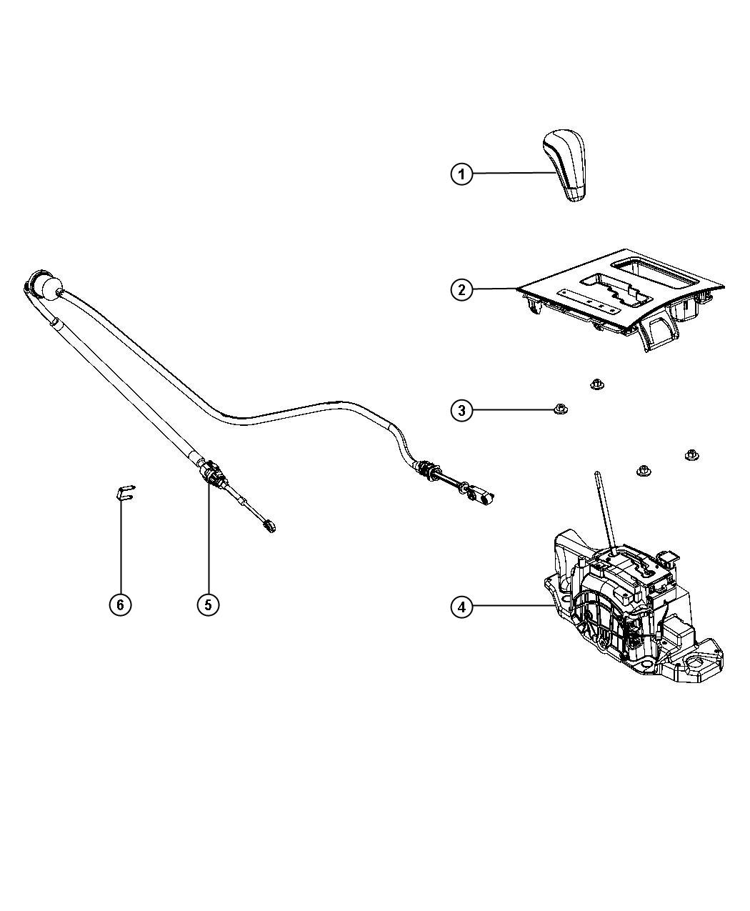 2012 Dodge Charger Bezel. Gear shift indicator. Trim: [all