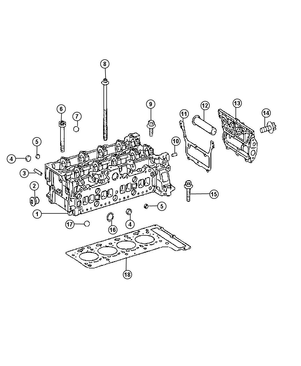 2009 Dodge Sprinter 2500 Plug. Expansion. Cylinder