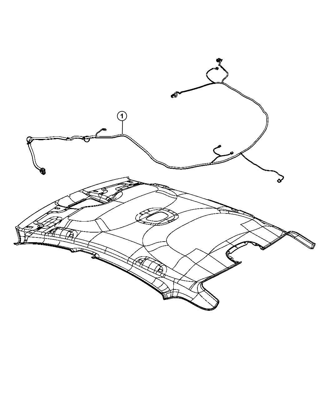Dodge Dart Wiring Headliner Courtesy Console Garage