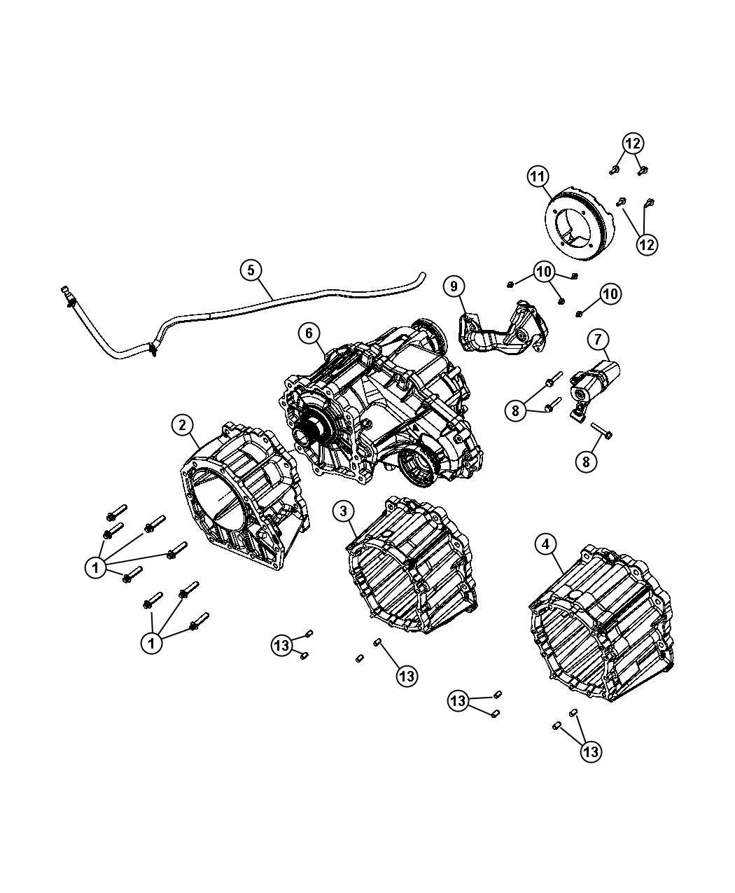 Jeep Grand Cherokee Damper Transfer Case Speed