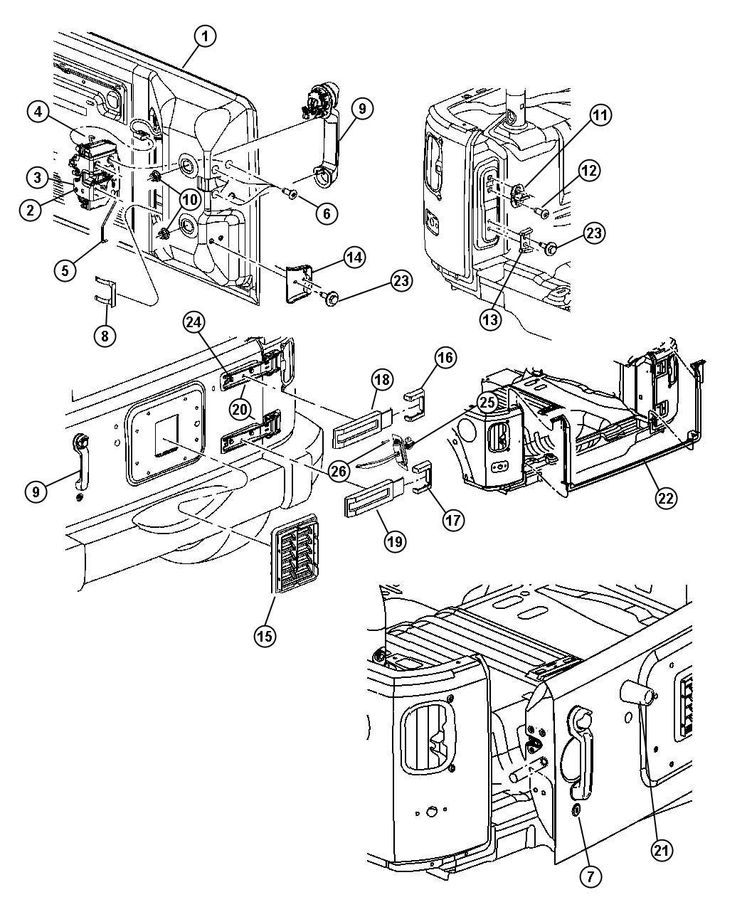 32 Jeep Wrangler Body Parts Diagram