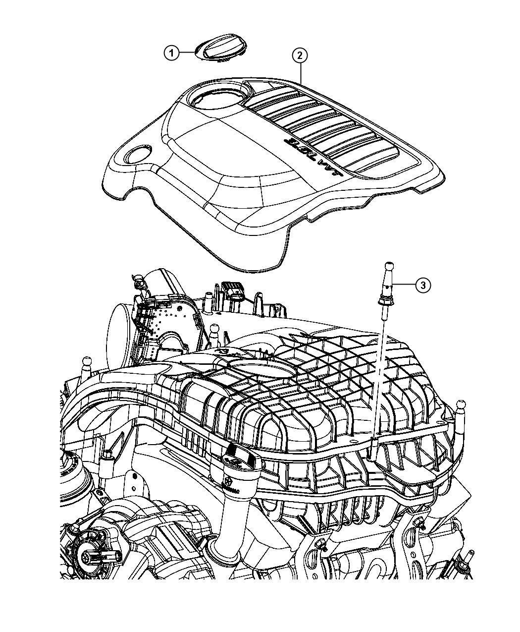 Dodge Avenger Cover Engine Exterior Sound Control