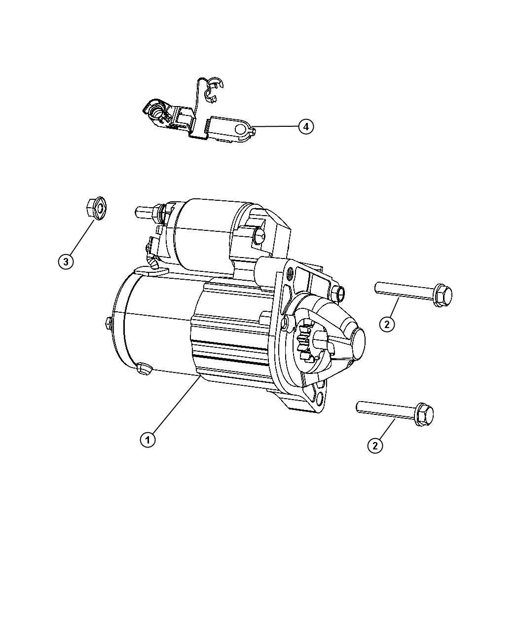 Fiat 500X Starter. Engine. Remanufactured. Related, mopar