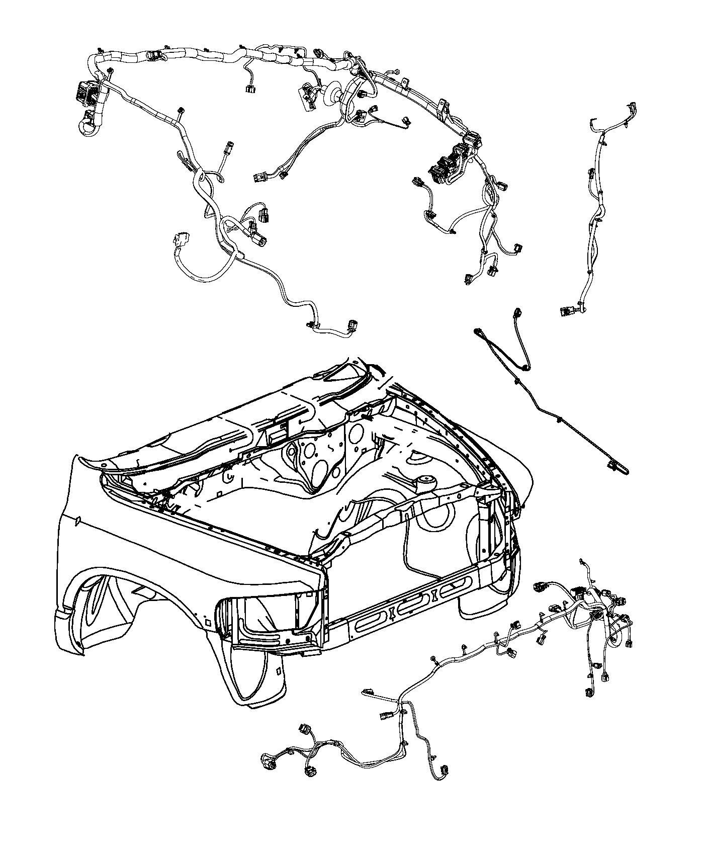 Dodge Ram 1500 Wiring. Jumper. Electric power steering