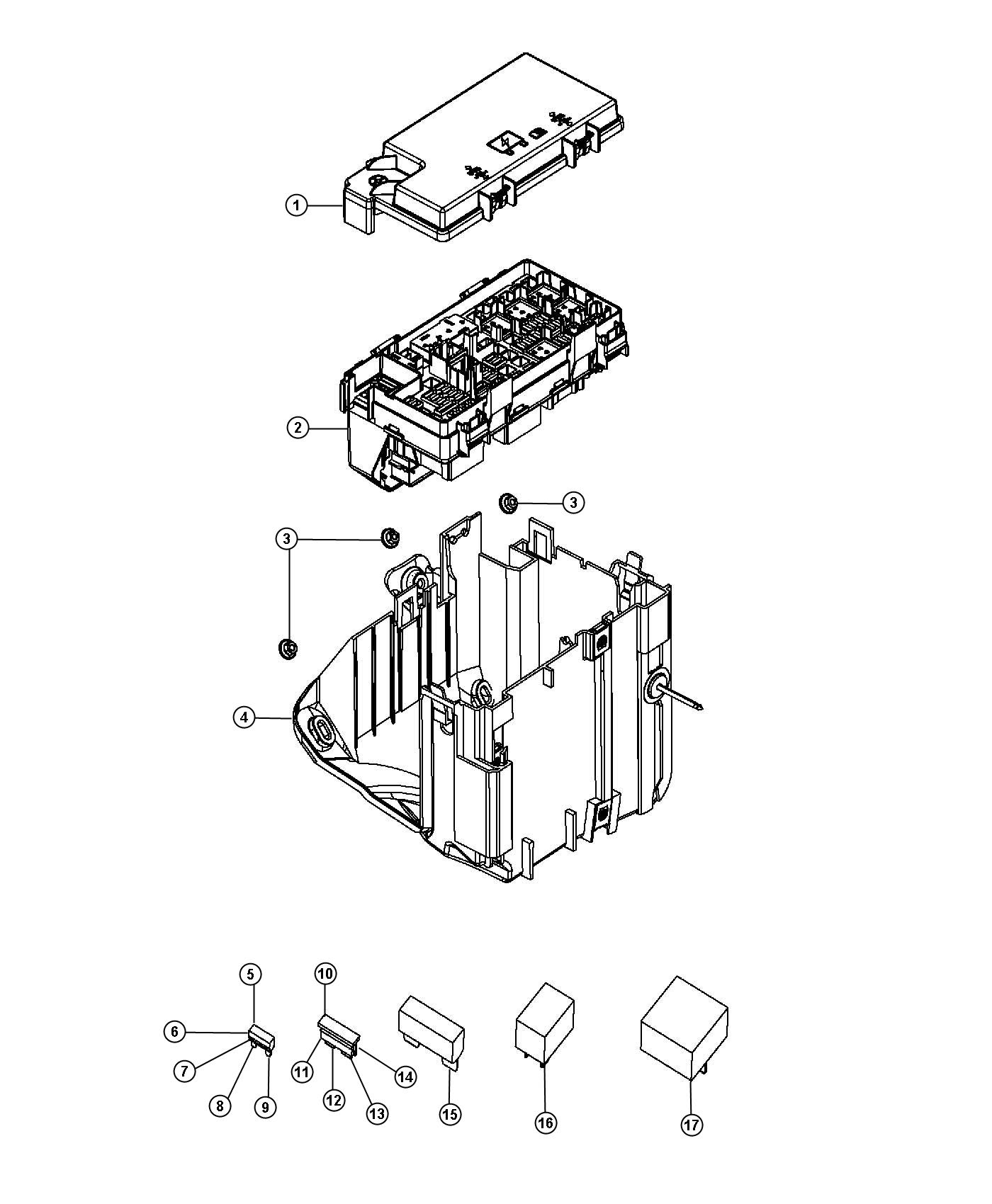 Jeep Grand Cherokee Module. Totally integrated power
