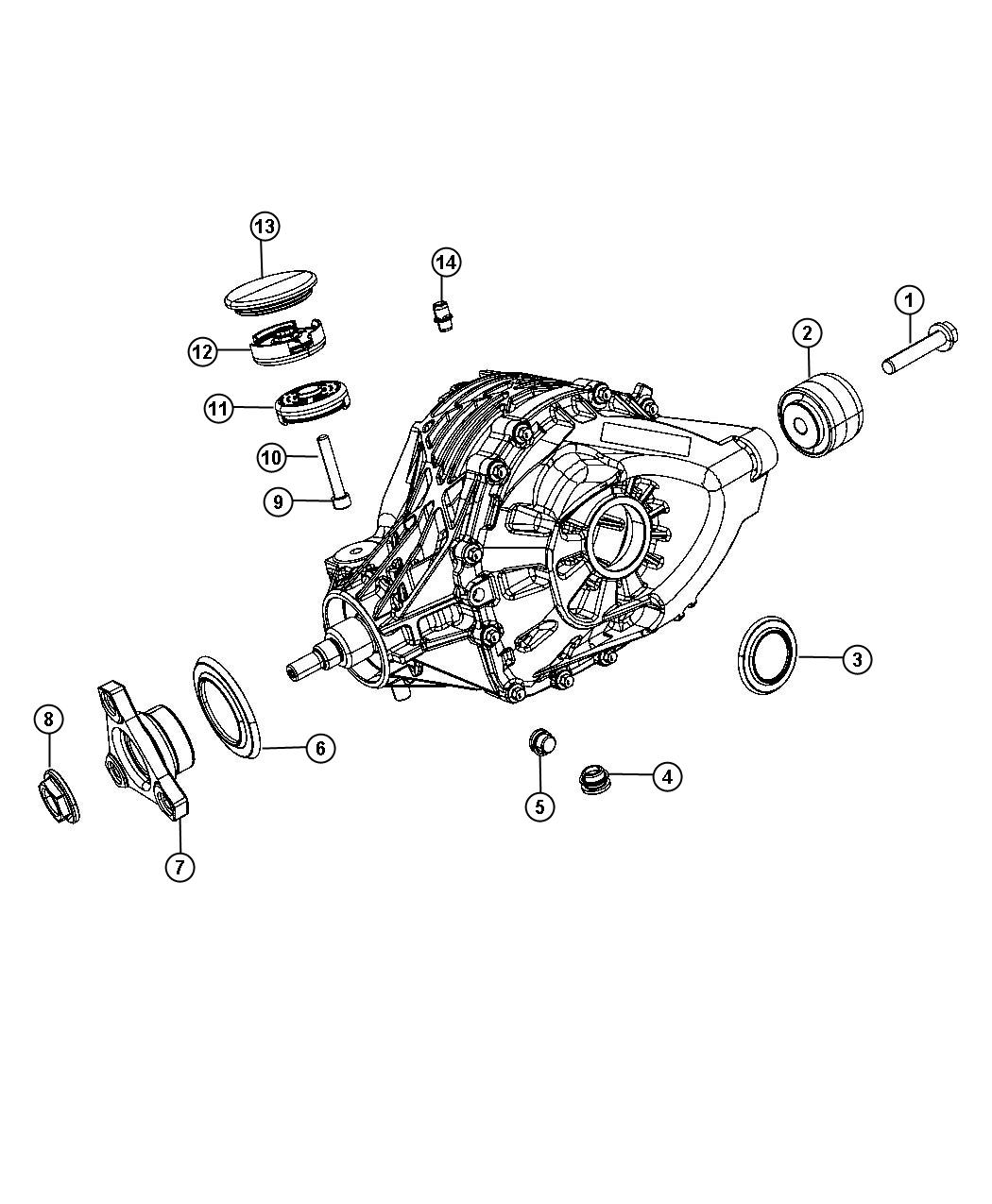 Dodge Charger Seal Axle Drive Shaft Output Dmp Dlc
