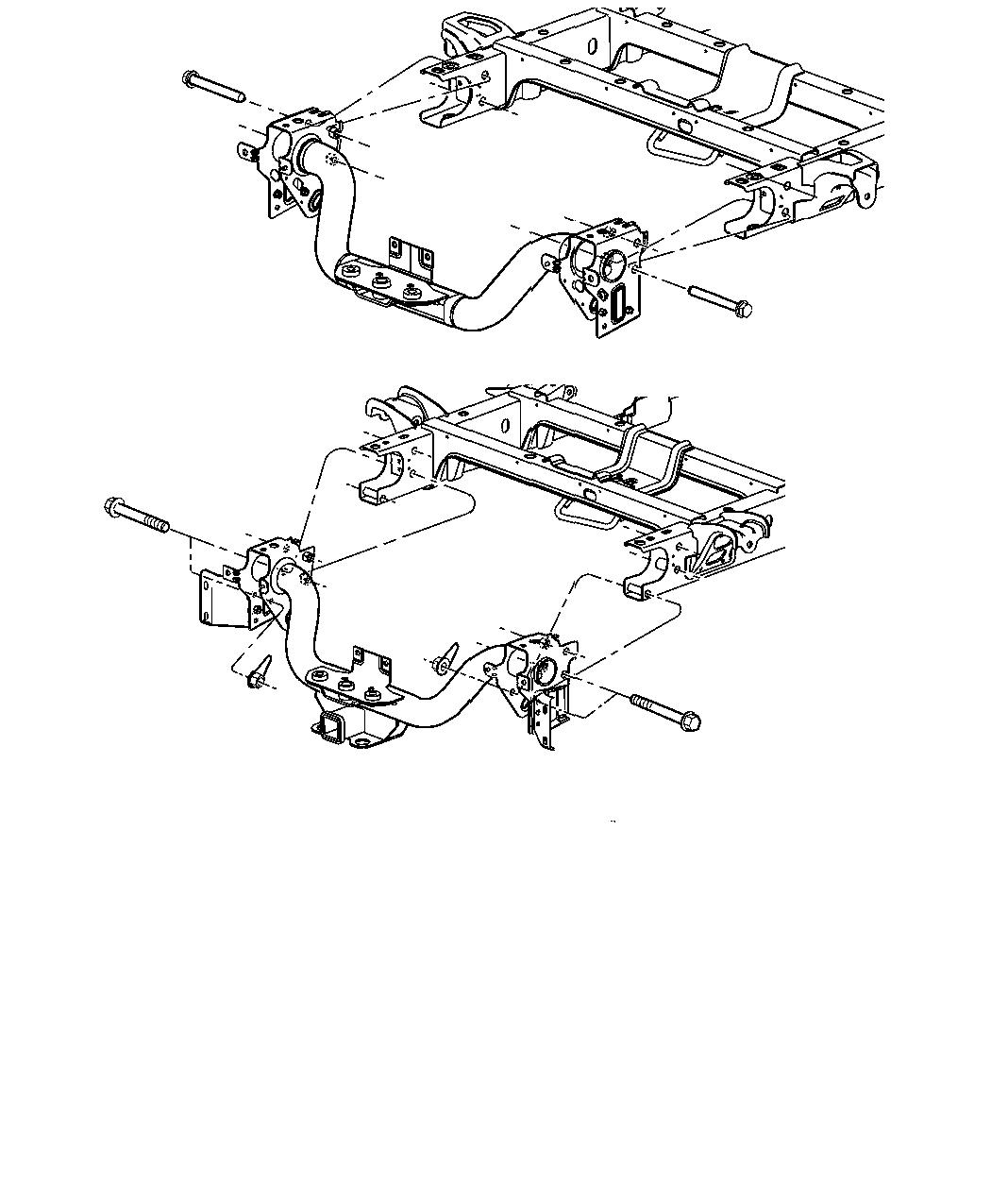 Ram Adapter Trailer Tow 2 5 Inch To 2 Inch