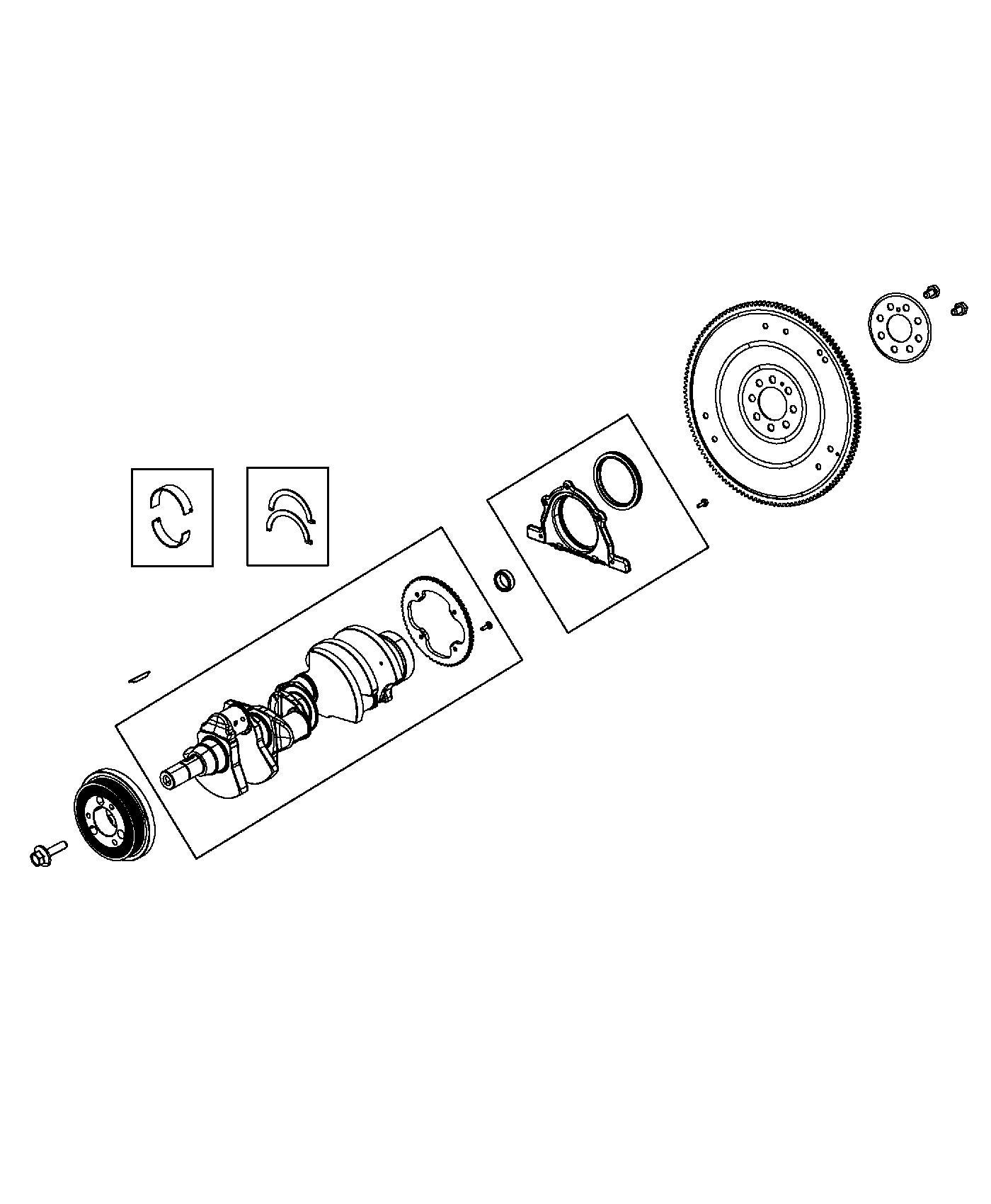 Ram 1500 Plate. Torque converter drive. [8-spd auto 8hp70