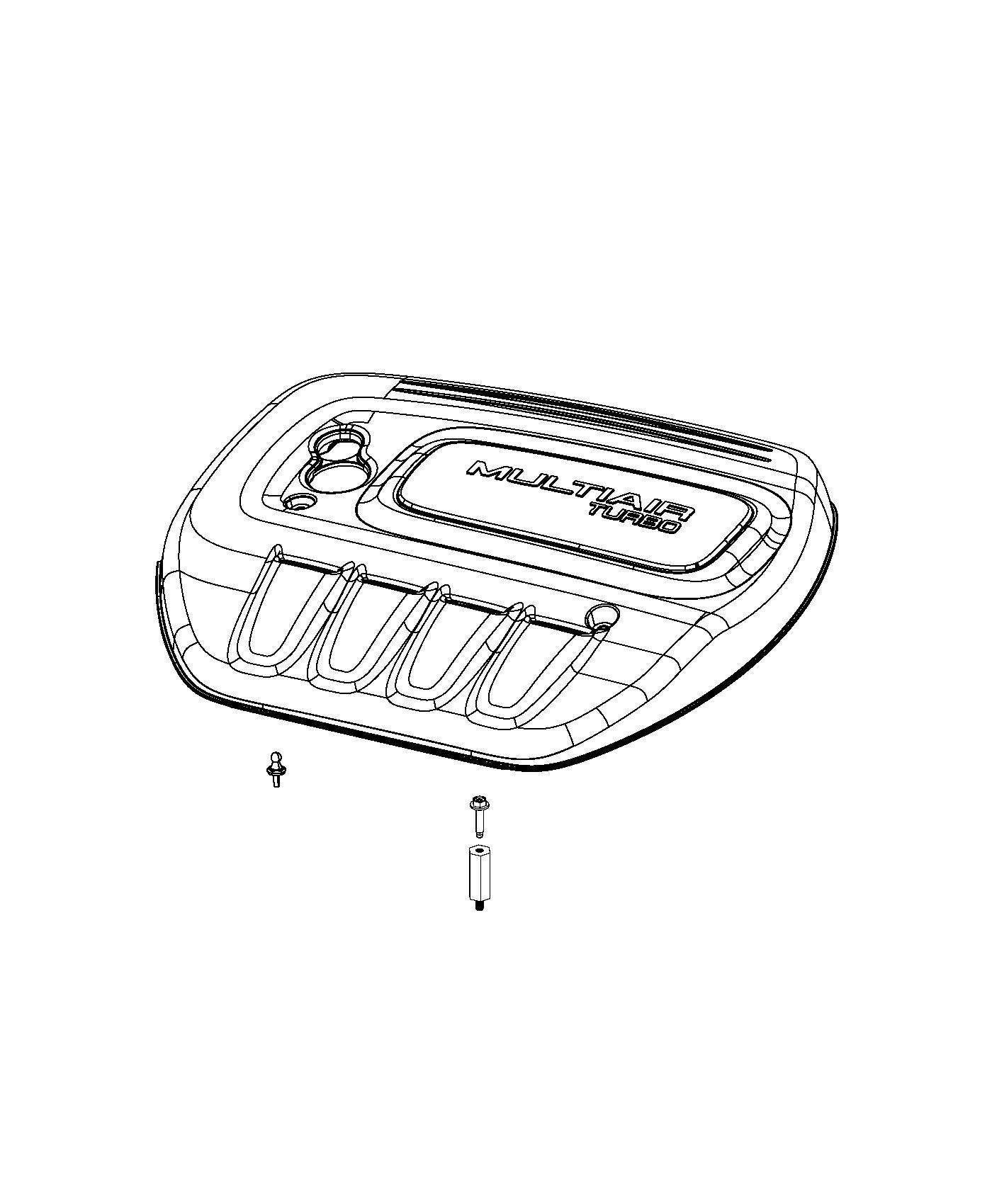 Dodge Dart Cover Engine Turbocharged Turbo Service