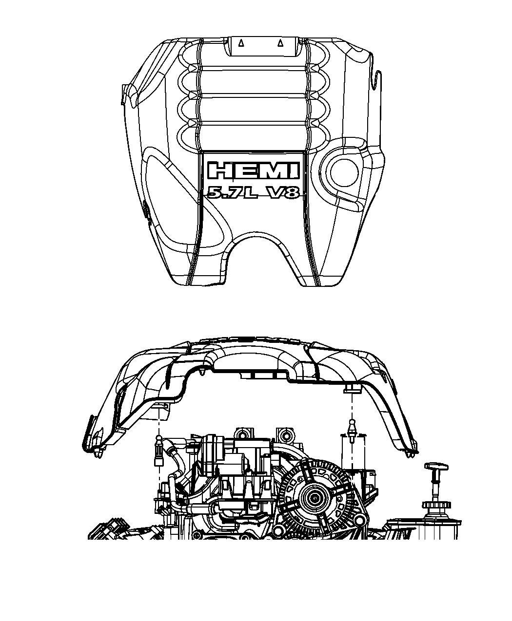 Ram 2500 Cover. Engine. 5.7l, crew cab. Related, ezc