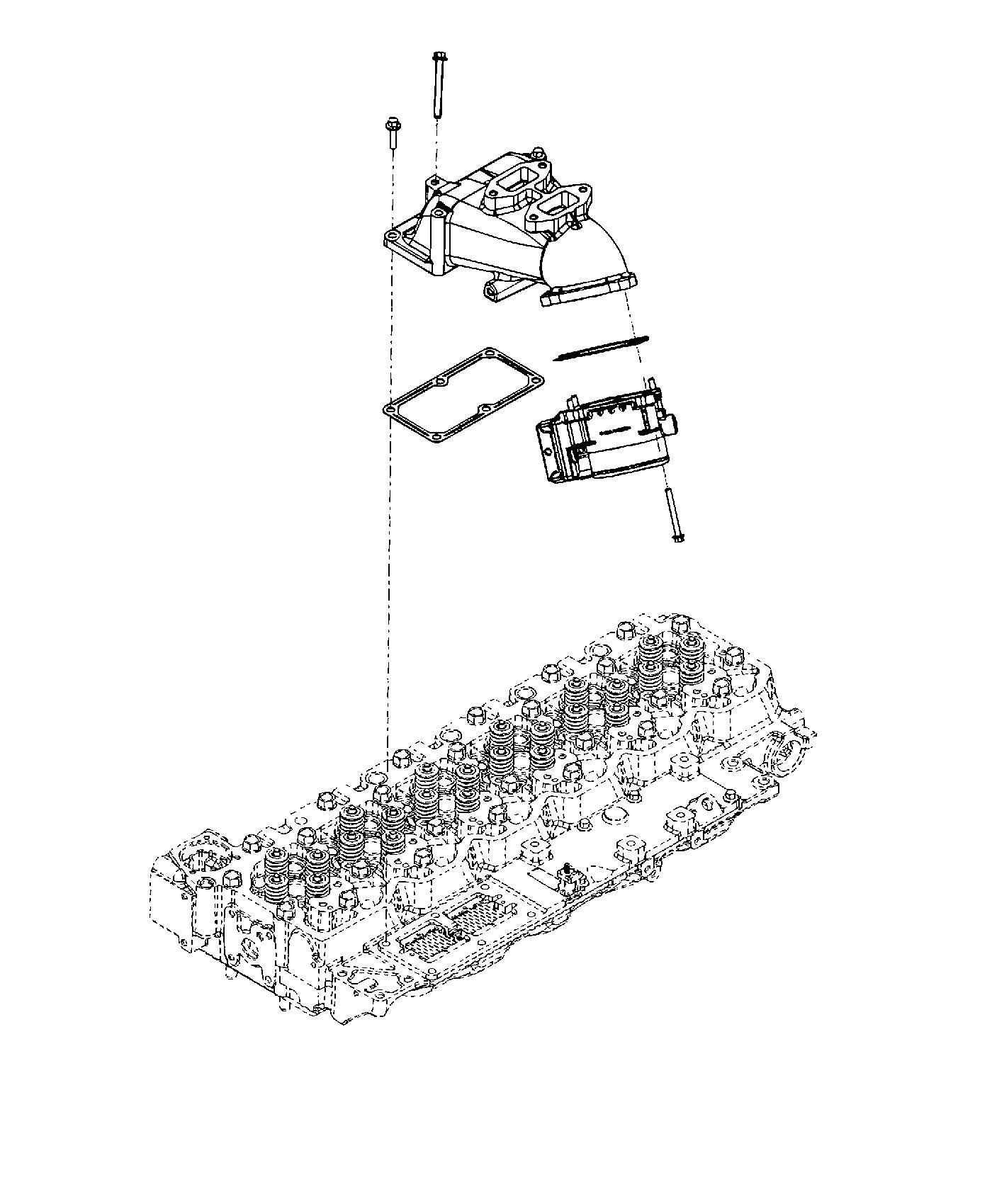 Dodge Ram Plenum Intake Manifold Emissions State