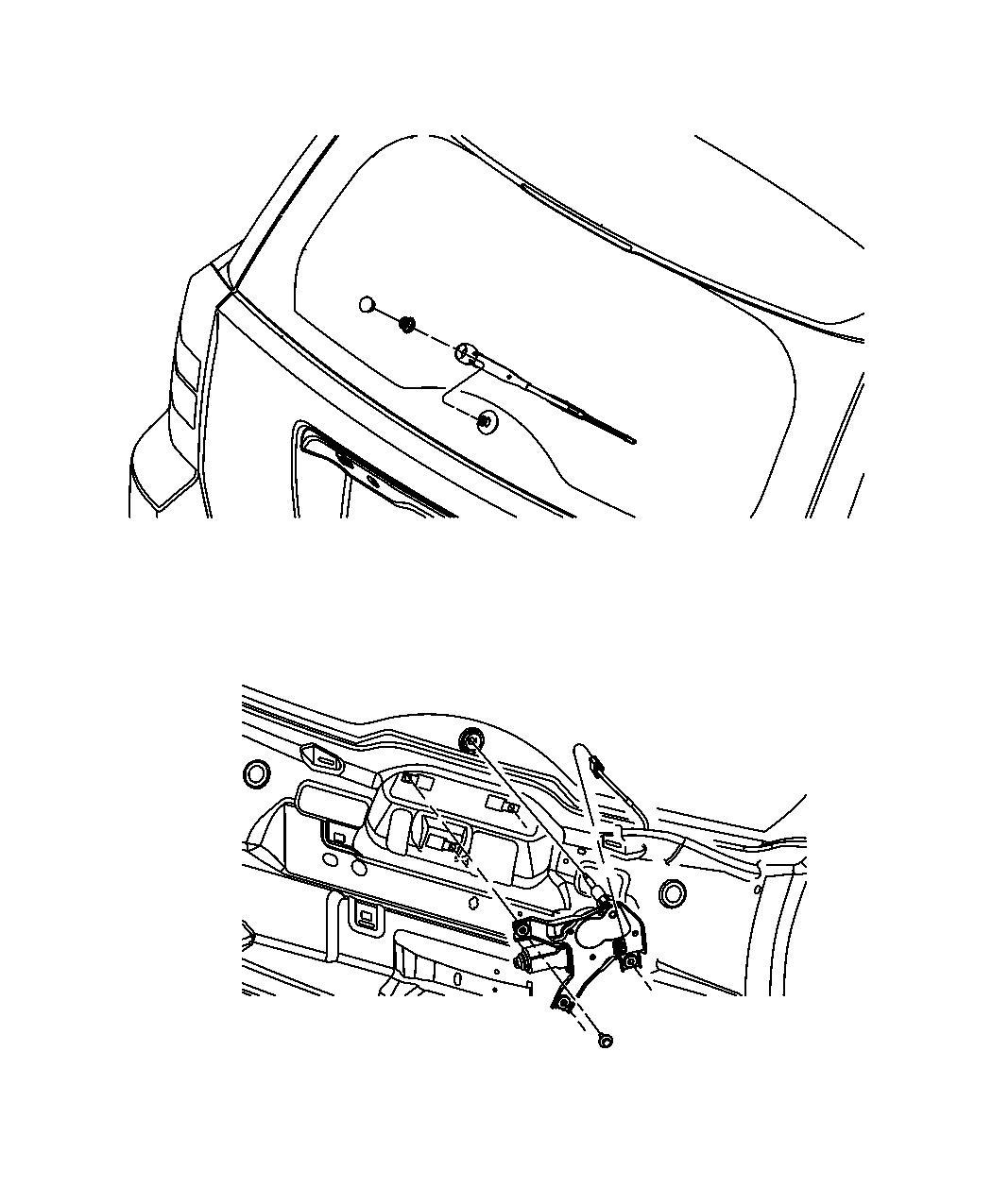 2014 Jeep Patriot Blade. Rear wiper. [rear window wiper