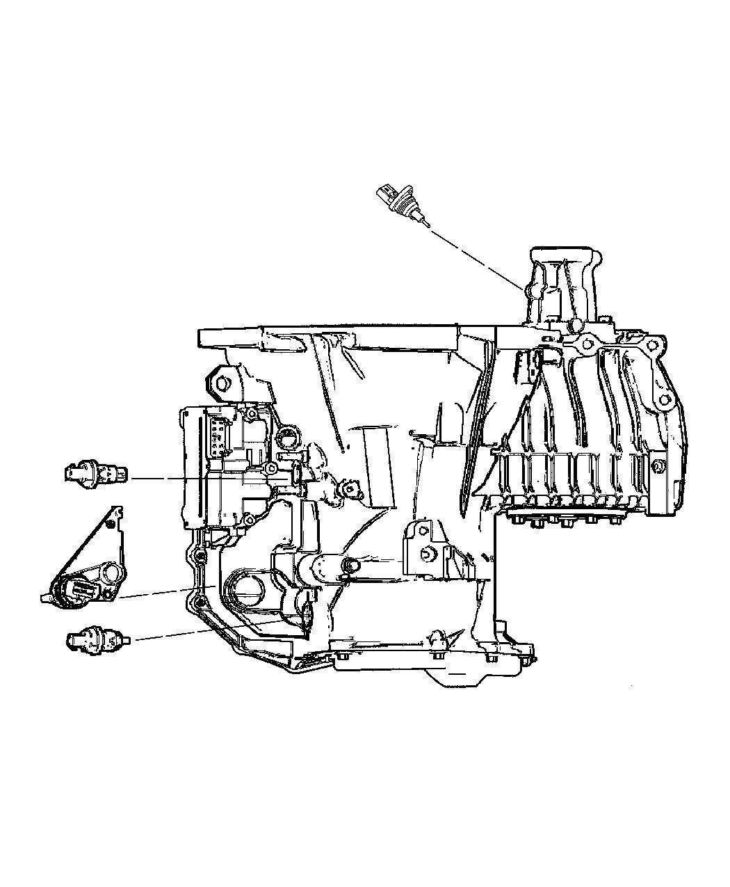 2014 Jeep Patriot Sensor. Primary revolution. Transmission