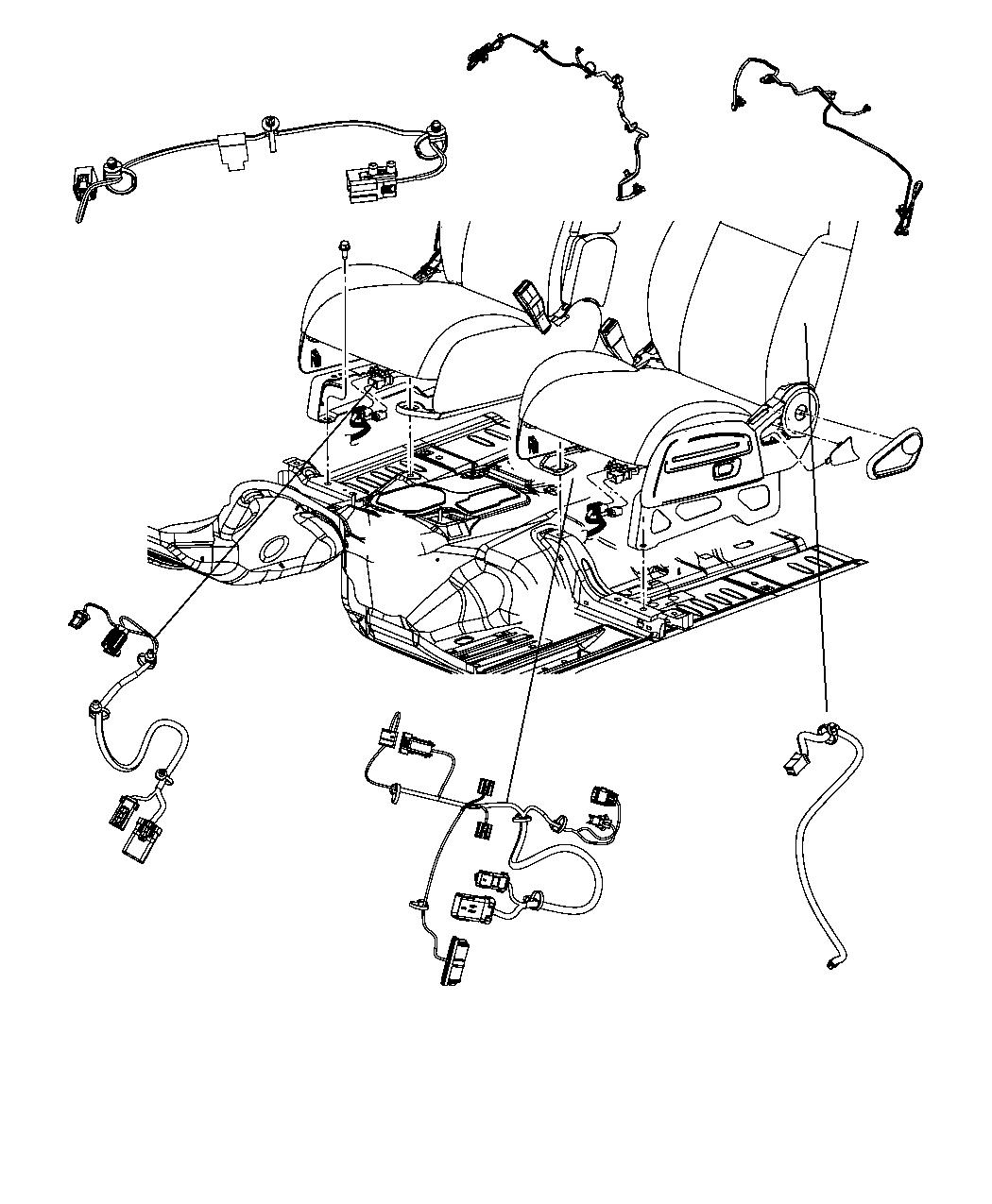 Jeep Compass Wiring. Jumper. Used for: air bag and active