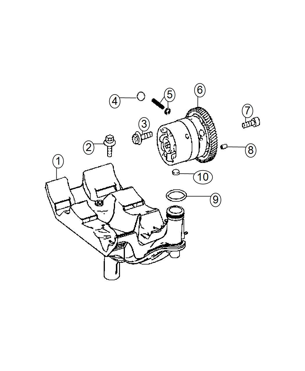 Dodge Sprinter Plug Expansion Valves Camshaft
