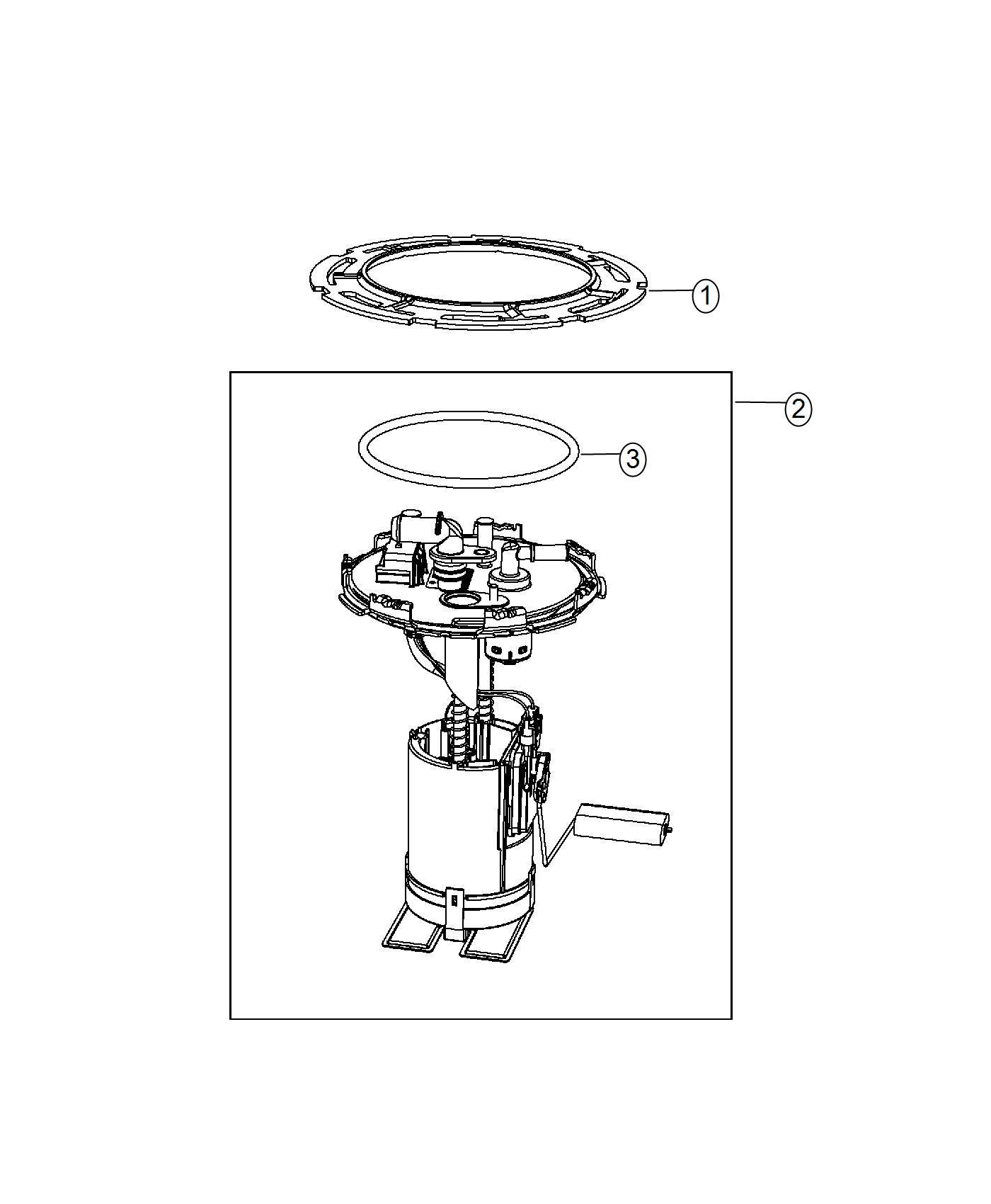 2014 Fiat 500L Pump. Fuel. Maintenance, system