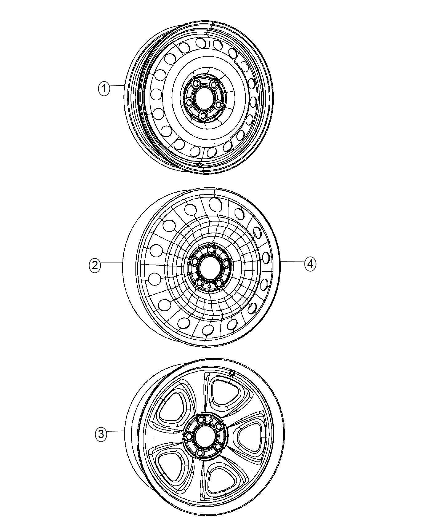 2014 Dodge Charger Wheel. Spare. Brazil. Tire, module