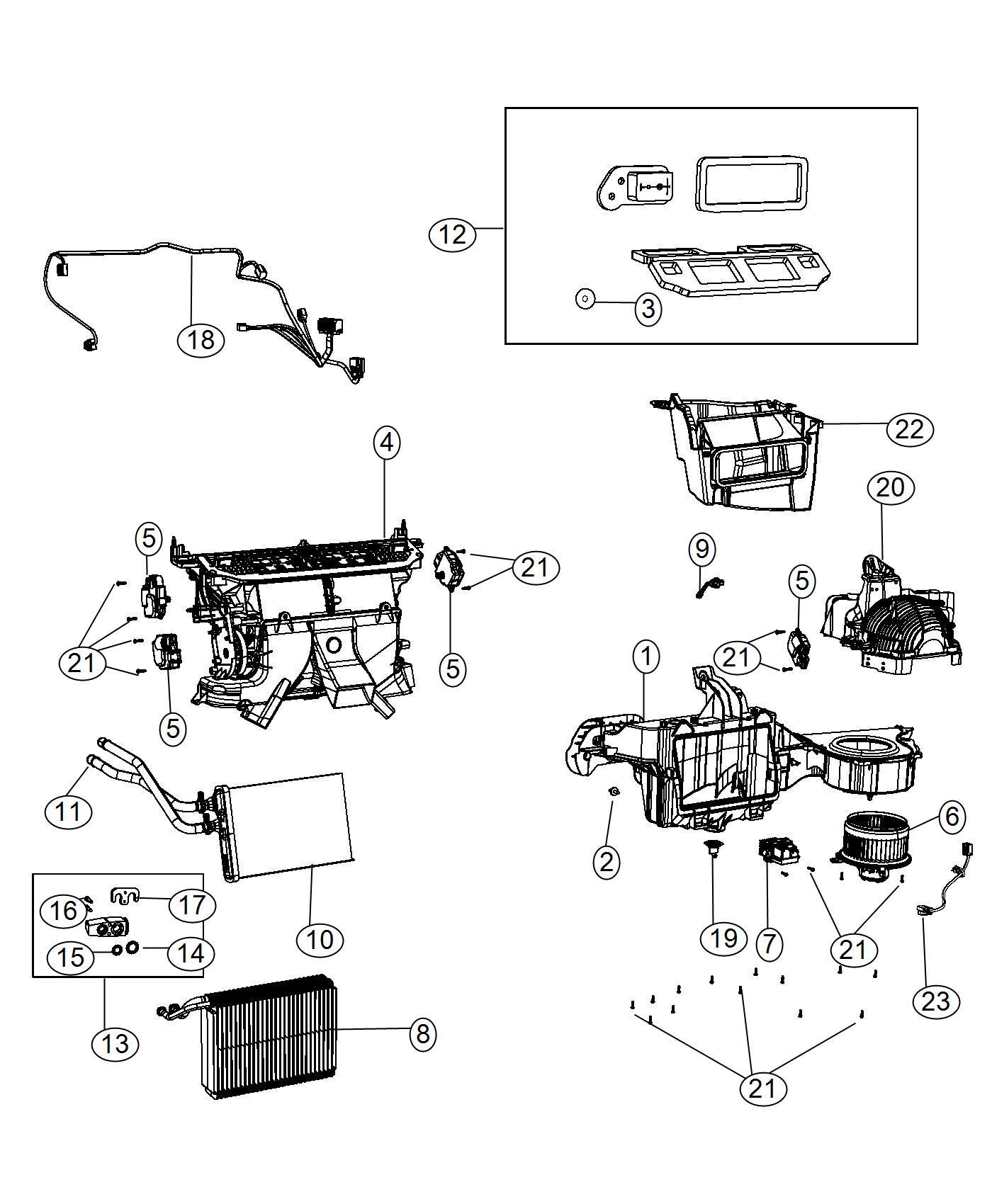Dodge Challenger Wiring Jumper Blower Motor