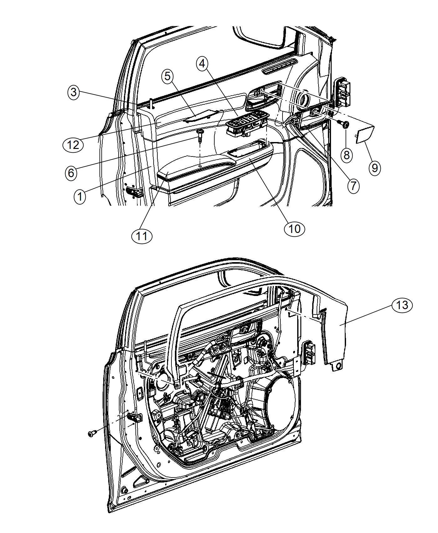 2011 Chrysler 300 Switch. Fuel door. Trim: [premium cloth
