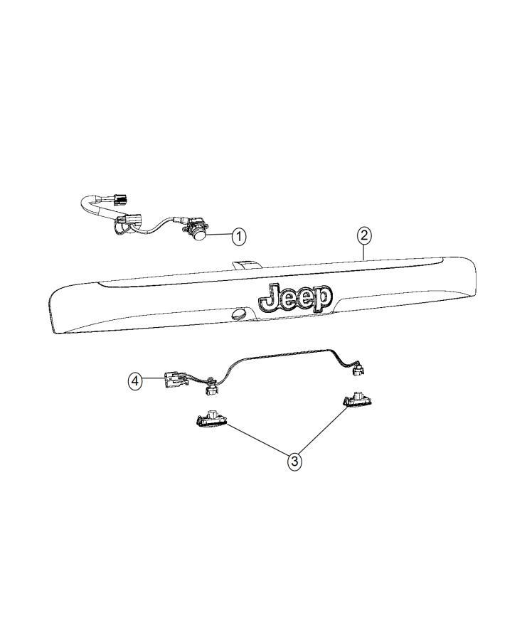 2016 Jeep Compass Wiring. License lamp. [xac], [xac], [ahg