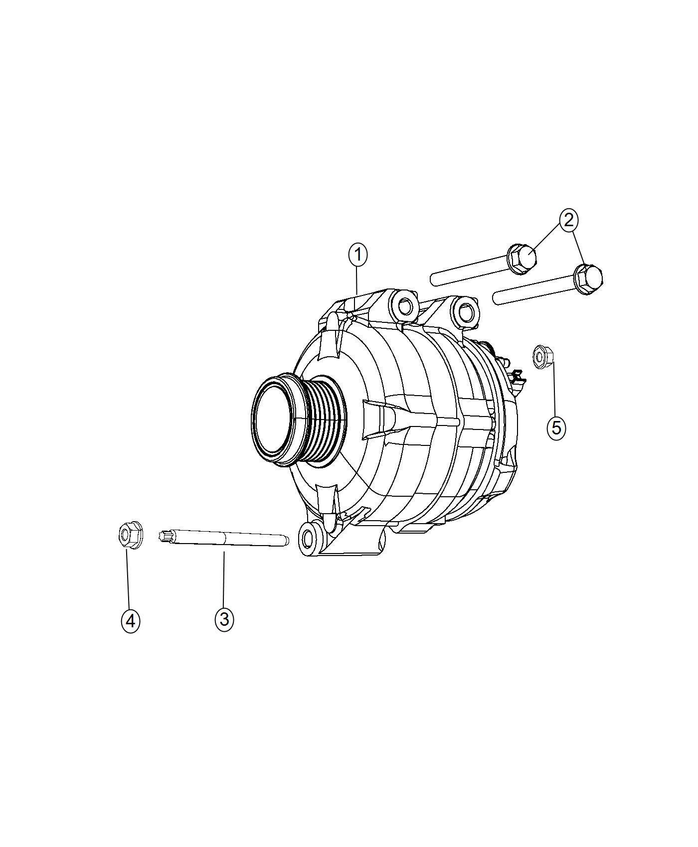 Chrysler Town Amp Country Generator Generator Kit Engine