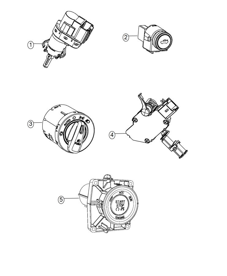 2014 Dodge Dart Module. Lamp dimming. Trim: [no
