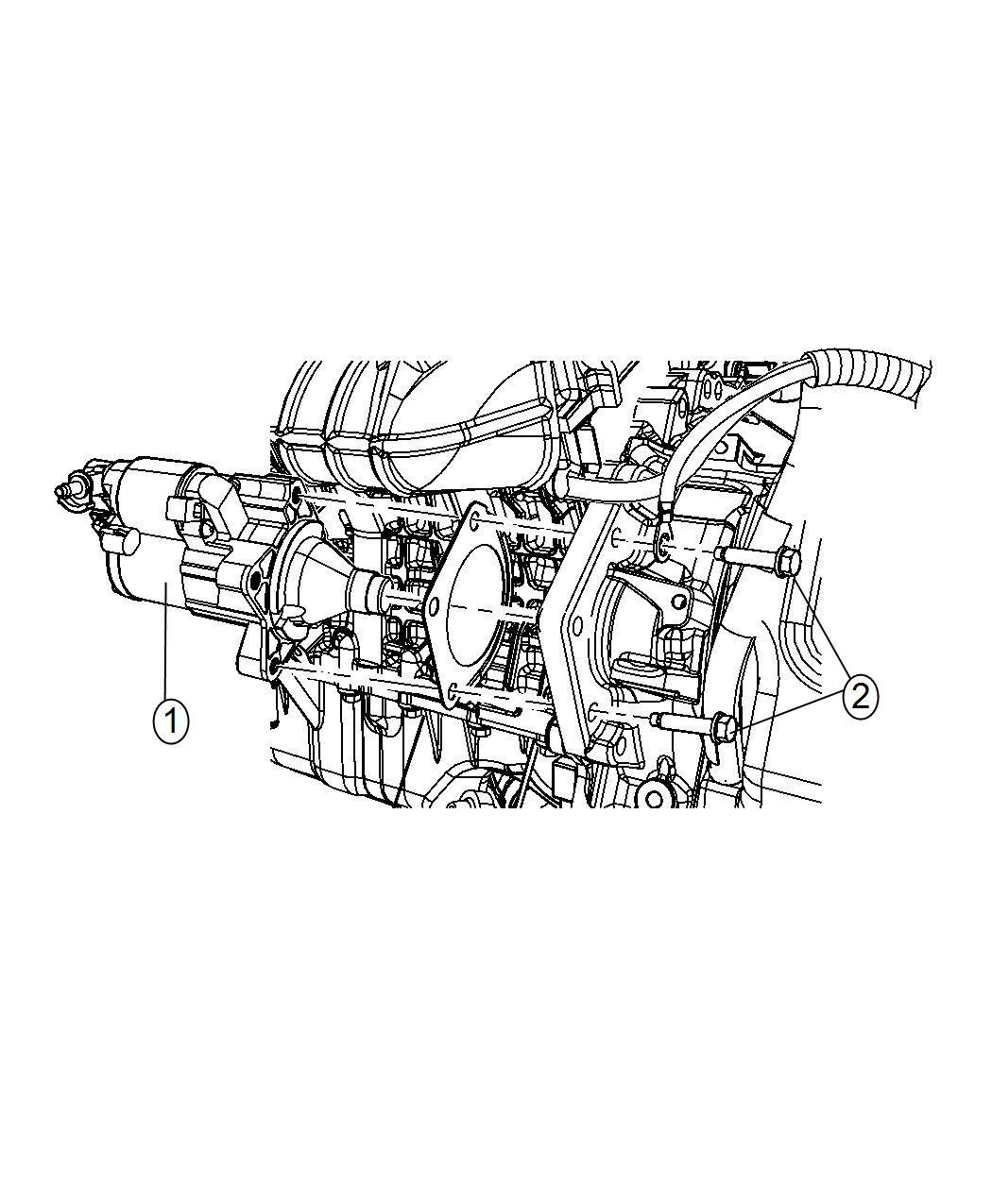 Dodge Ram Starter Engine Remanufactured Power