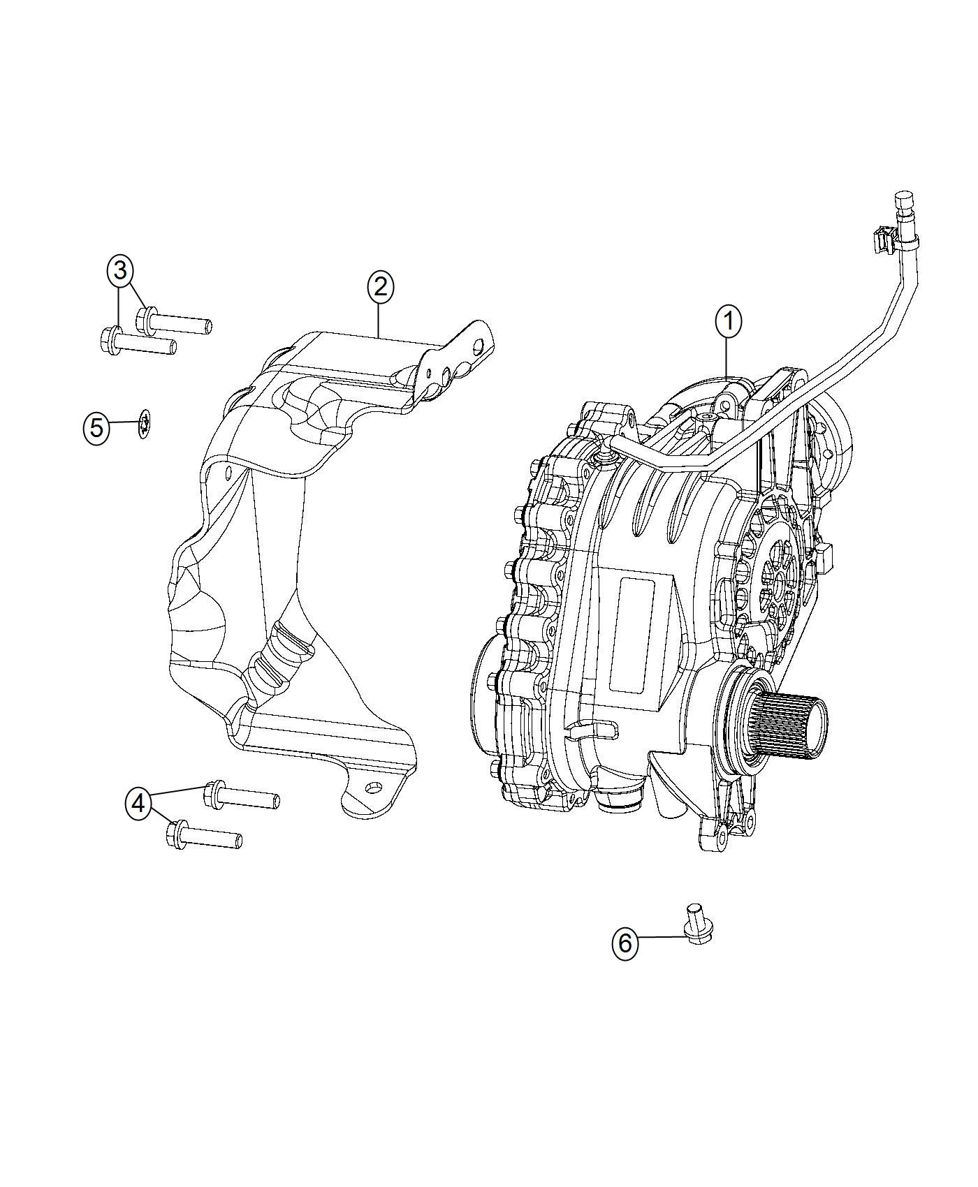2014 Dodge Journey Shield. Heat. Power, unit, transfer