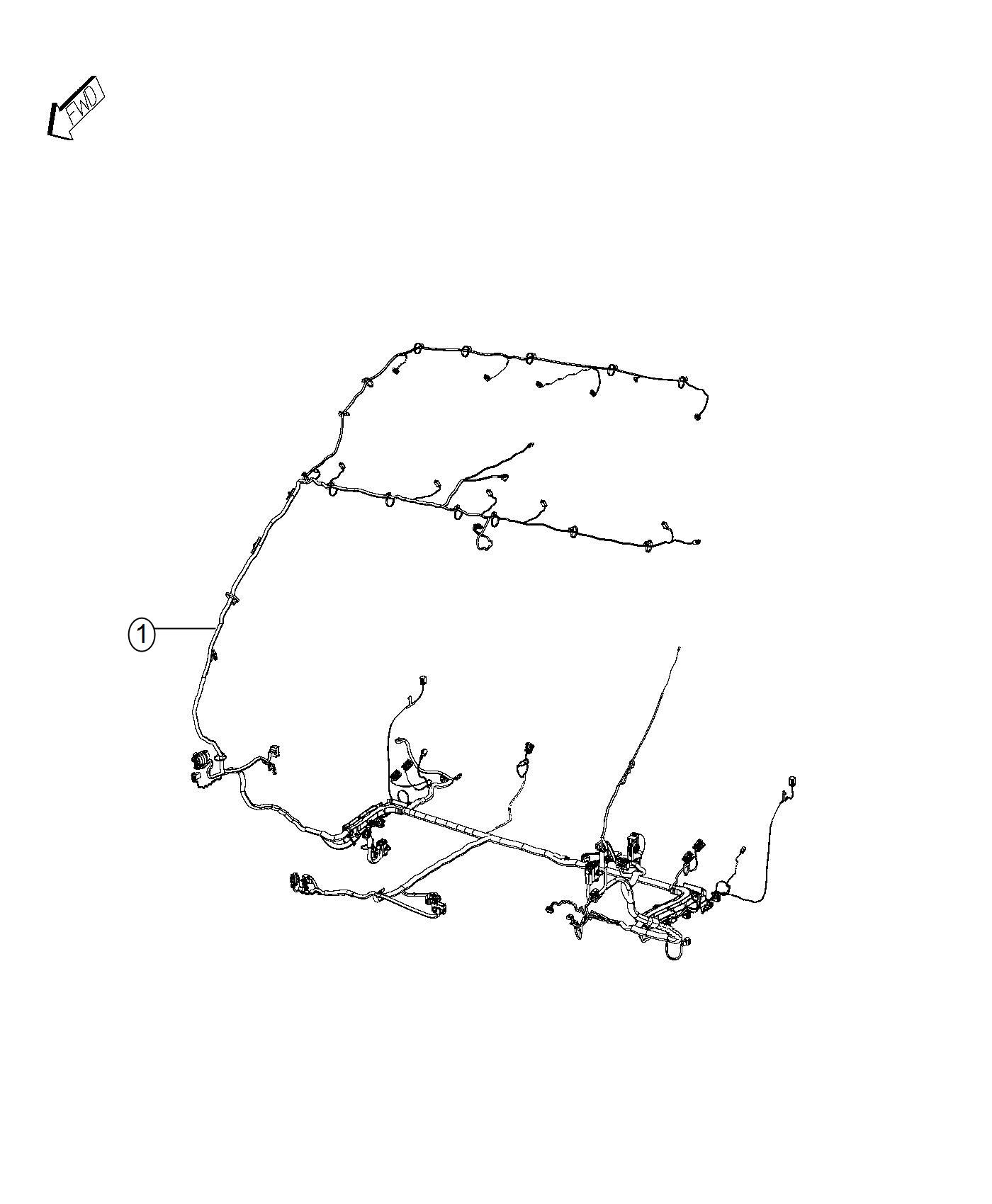 Ram ProMaster Wiring. Body. Interior. [delete passenger