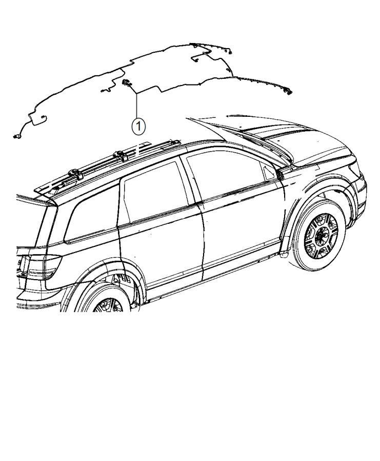 2015 Dodge Journey Wiring. Header. Export, us, canada