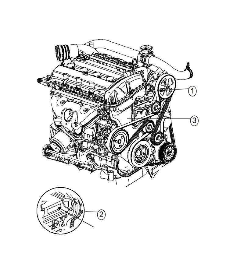 Dodge Dart Engine. Long block. Cooler, control