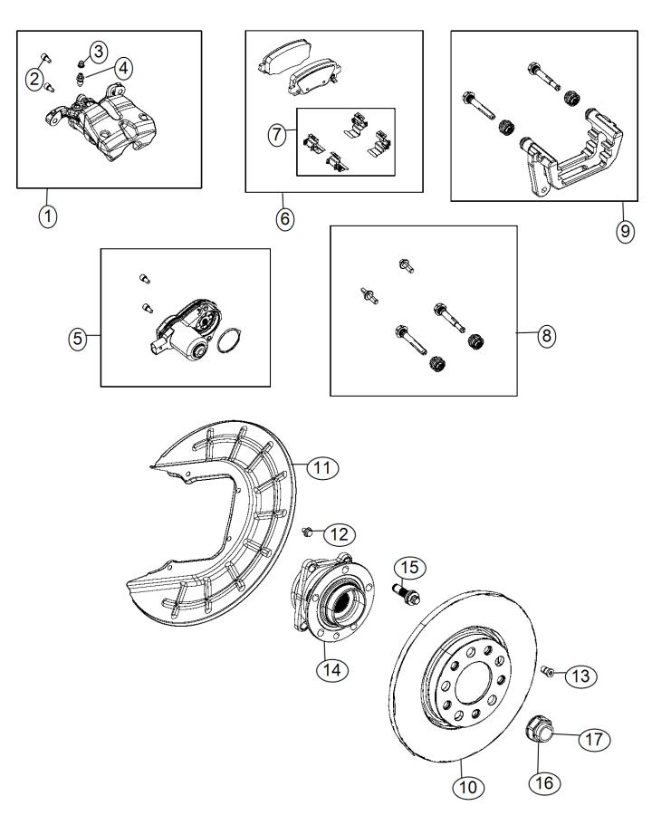 2014 Jeep Cherokee Used for: HUB AND BEARING. Wheel. Right