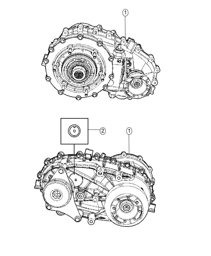 2008 Jeep Wrangler Transfer case. Np241. Remanufactured