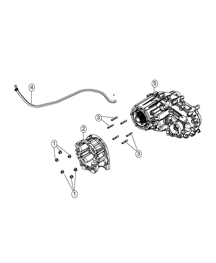 2014 Jeep Wrangler Transfer case. Np241. Check s/s note