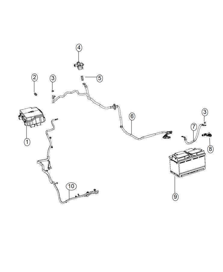 2015 Jeep Grand Cherokee Wiring. Alternator starter power